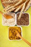 Blandade kryddor Arkivfoton