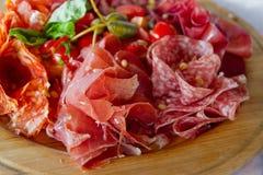 blandade meats arkivfoto