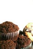 blandade muffiner Arkivfoto