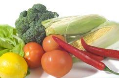 blandade nya grönsaker Royaltyfri Fotografi