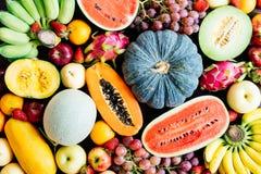 Blandade och blandade frukter Royaltyfria Bilder