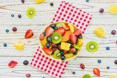 Blandade och blandade frukter Royaltyfri Foto