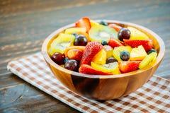 Blandade och blandade frukter Arkivbild