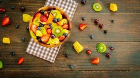 Blandade och blandade frukter Arkivfoton