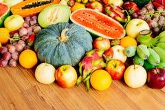 Blandade och blandade frukter Royaltyfri Fotografi