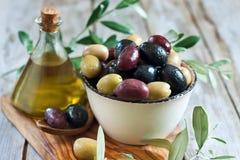 Blandade oliv Royaltyfria Bilder
