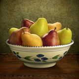 blandade pears Royaltyfria Bilder