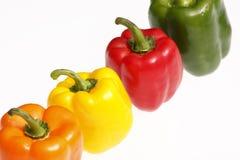 blandade peppar Arkivfoton