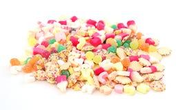 blandade sötsaker Arkivbild