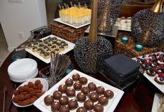 Blandade Sugar Confection Dessert Sweets Buffet Royaltyfria Foton