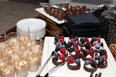 Blandade Sugar Confection Dessert Sweets Buffet Arkivbild