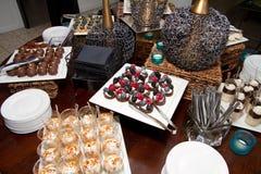 Blandade Sugar Confection Dessert Sweets Buffet Royaltyfri Bild