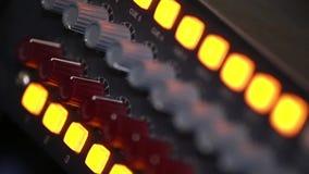 Blandande brädeknoppar, närbild lager videofilmer