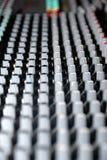 blandande ljud för konsol Royaltyfri Bild
