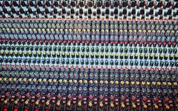 Blandande ljudsignal konsol Royaltyfria Foton