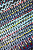 Blandande ljudsignal konsol Royaltyfria Bilder