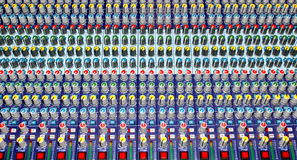 Blandande ljudsignal konsol Royaltyfri Foto