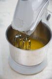 Blandande smör Arkivfoton