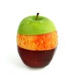 blandat äpple arkivbilder
