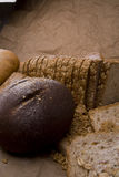 blandat bröd Arkivbild