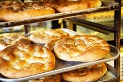Blandat bröd och bakelse Royaltyfria Bilder