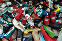 Blandat skodon för skor Royaltyfri Bild