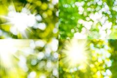 Blandning av abstrakta bilder Royaltyfri Fotografi