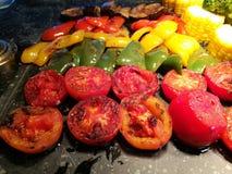 Blandning av grönsakgrillfesten Royaltyfria Bilder