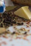 Blandning av kryddor arkivfoton