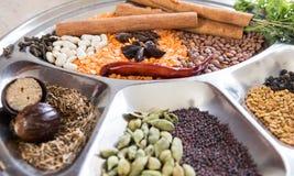Blandning av mauritian kryddor royaltyfria foton