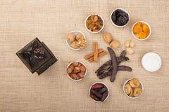 Blandning av Ramadan Sweets Royaltyfria Foton