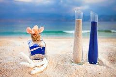 Blandning av sander är en ny familj Royaltyfria Bilder