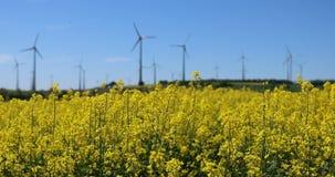 Blandning för alternativ energi lager videofilmer