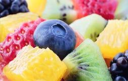 Blandning för ny frukt arkivbilder