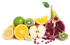 Blandning för nya frukter arkivbild