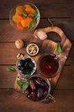blandning torkade frukter Royaltyfri Fotografi