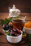 blandning torkade frukter Arkivfoton