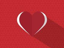 blandningen colors den globala hjärtavektorn Arkivfoto
