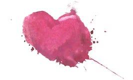 blandningen colors den globala hjärtavektorn tecknad hand Arkivfoto