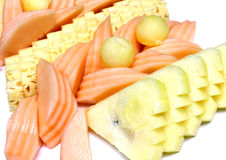 Blandningfrukt Arkivbild