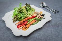 Blandninggrönsaksallad Royaltyfri Foto