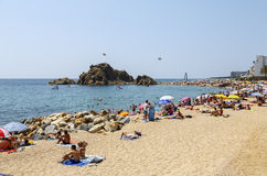 Blanes, Barcelona, Spain Royalty Free Stock Images