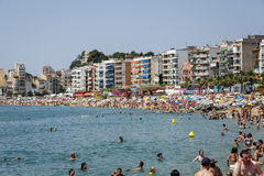 Blanes, Barcelona, Spain Royalty Free Stock Photography