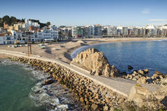 Blanes, Costa Brava. Royalty Free Stock Images