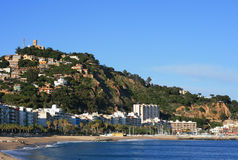 Blanes (Costa Brava, Spain) Royalty Free Stock Photos