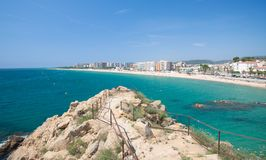 Blanes,Costa Brava,Spain Stock Image