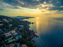 Blanes Dawn Royalty Free Stock Photo