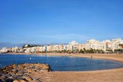 Blanes miasteczko w Hiszpania obrazy stock