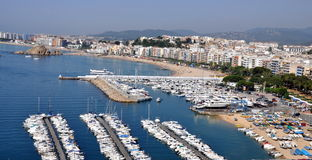Blanes Port, Costa Brava Stock Photo