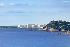 Blanes strand, Spanje Royalty-vrije Stock Foto
